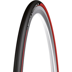 "Michelin Lithion 3 Foldedæk 28x0.90"", black/red"